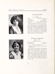 Abbot Academy - Circle Yearbook (Andover, MA) online yearbook collection, 1924 Edition, Page 38