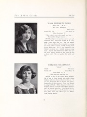Abbot Academy - Circle Yearbook (Andover, MA) online yearbook collection, 1924 Edition, Page 42