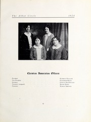 Abbot Academy - Circle Yearbook (Andover, MA) online yearbook collection, 1924 Edition, Page 71