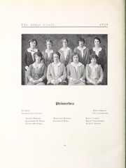 Abbot Academy - Circle Yearbook (Andover, MA) online yearbook collection, 1924 Edition, Page 82