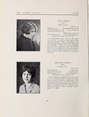 Abbot Academy - Circle Yearbook (Andover, MA) online yearbook collection, 1925 Edition, Page 22