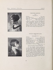 Abbot Academy - Circle Yearbook (Andover, MA) online yearbook collection, 1925 Edition, Page 24
