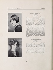 Abbot Academy - Circle Yearbook (Andover, MA) online yearbook collection, 1925 Edition, Page 26