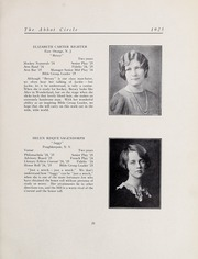 Abbot Academy - Circle Yearbook (Andover, MA) online yearbook collection, 1925 Edition, Page 29