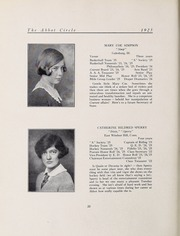 Abbot Academy - Circle Yearbook (Andover, MA) online yearbook collection, 1925 Edition, Page 30