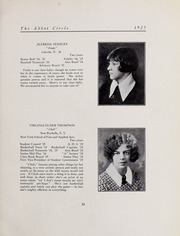 Abbot Academy - Circle Yearbook (Andover, MA) online yearbook collection, 1925 Edition, Page 31