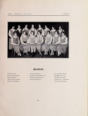 Abbot Academy - Circle Yearbook (Andover, MA) online yearbook collection, 1925 Edition, Page 63