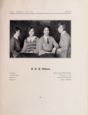 Abbot Academy - Circle Yearbook (Andover, MA) online yearbook collection, 1925 Edition, Page 73