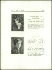 Abbot Academy - Circle Yearbook (Andover, MA) online yearbook collection, 1926 Edition, Page 20