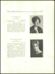 Abbot Academy - Circle Yearbook (Andover, MA) online yearbook collection, 1926 Edition, Page 21