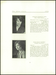 Abbot Academy - Circle Yearbook (Andover, MA) online yearbook collection, 1926 Edition, Page 22 of 126
