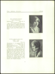Abbot Academy - Circle Yearbook (Andover, MA) online yearbook collection, 1926 Edition, Page 23