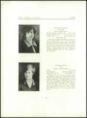Abbot Academy - Circle Yearbook (Andover, MA) online yearbook collection, 1926 Edition, Page 28