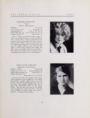 Abbot Academy - Circle Yearbook (Andover, MA) online yearbook collection, 1927 Edition, Page 29