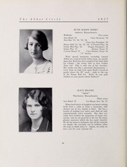 Abbot Academy - Circle Yearbook (Andover, MA) online yearbook collection, 1927 Edition, Page 32