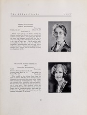 Abbot Academy - Circle Yearbook (Andover, MA) online yearbook collection, 1927 Edition, Page 35