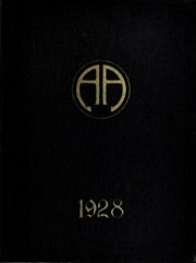 Abbot Academy - Circle Yearbook (Andover, MA) online yearbook collection, 1928 Edition, Cover