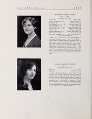 Page 16, 1928 Edition, Abbot Academy - Circle Yearbook (Andover, MA) online yearbook collection