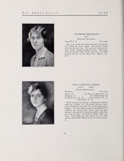 Abbot Academy - Circle Yearbook (Andover, MA) online yearbook collection, 1928 Edition, Page 18