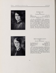 Abbot Academy - Circle Yearbook (Andover, MA) online yearbook collection, 1928 Edition, Page 24 of 136