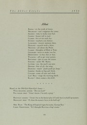 Abbot Academy - Circle Yearbook (Andover, MA) online yearbook collection, 1930 Edition, Page 118