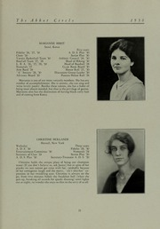 Abbot Academy - Circle Yearbook (Andover, MA) online yearbook collection, 1930 Edition, Page 27