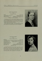 Abbot Academy - Circle Yearbook (Andover, MA) online yearbook collection, 1930 Edition, Page 31