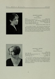 Abbot Academy - Circle Yearbook (Andover, MA) online yearbook collection, 1930 Edition, Page 32