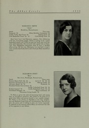 Abbot Academy - Circle Yearbook (Andover, MA) online yearbook collection, 1930 Edition, Page 37
