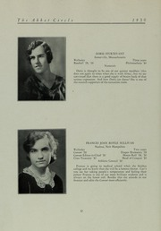 Abbot Academy - Circle Yearbook (Andover, MA) online yearbook collection, 1930 Edition, Page 38 of 146