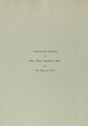 Abbot Academy - Circle Yearbook (Andover, MA) online yearbook collection, 1930 Edition, Page 8