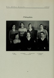 Abbot Academy - Circle Yearbook (Andover, MA) online yearbook collection, 1930 Edition, Page 98