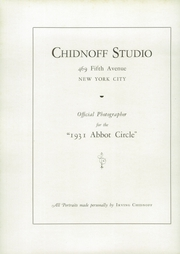 Abbot Academy - Circle Yearbook (Andover, MA) online yearbook collection, 1931 Edition, Page 124
