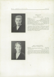 Abbot Academy - Circle Yearbook (Andover, MA) online yearbook collection, 1931 Edition, Page 20