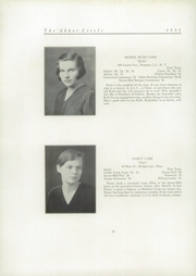 Abbot Academy - Circle Yearbook (Andover, MA) online yearbook collection, 1931 Edition, Page 22
