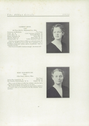 Abbot Academy - Circle Yearbook (Andover, MA) online yearbook collection, 1931 Edition, Page 25
