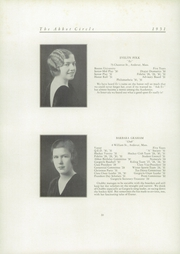 Abbot Academy - Circle Yearbook (Andover, MA) online yearbook collection, 1931 Edition, Page 26 of 142