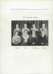Abbot Academy - Circle Yearbook (Andover, MA) online yearbook collection, 1931 Edition, Page 90