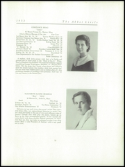 Abbot Academy - Circle Yearbook (Andover, MA) online yearbook collection, 1932 Edition, Page 27