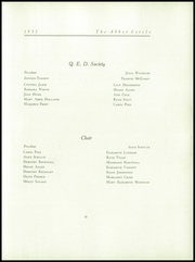 Abbot Academy - Circle Yearbook (Andover, MA) online yearbook collection, 1932 Edition, Page 85 of 124
