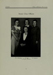 Abbot Academy - Circle Yearbook (Andover, MA) online yearbook collection, 1933 Edition, Page 19