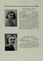 Abbot Academy - Circle Yearbook (Andover, MA) online yearbook collection, 1933 Edition, Page 22