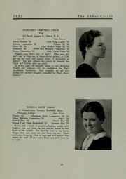 Abbot Academy - Circle Yearbook (Andover, MA) online yearbook collection, 1933 Edition, Page 23