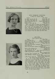 Abbot Academy - Circle Yearbook (Andover, MA) online yearbook collection, 1933 Edition, Page 24 of 108