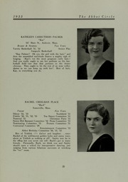 Abbot Academy - Circle Yearbook (Andover, MA) online yearbook collection, 1933 Edition, Page 29