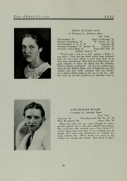 Abbot Academy - Circle Yearbook (Andover, MA) online yearbook collection, 1933 Edition, Page 30