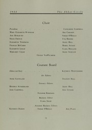 Abbot Academy - Circle Yearbook (Andover, MA) online yearbook collection, 1933 Edition, Page 75