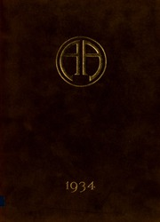 Abbot Academy - Circle Yearbook (Andover, MA) online yearbook collection, 1934 Edition, Cover