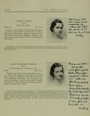 Abbot Academy - Circle Yearbook (Andover, MA) online yearbook collection, 1934 Edition, Page 25