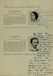 Abbot Academy - Circle Yearbook (Andover, MA) online yearbook collection, 1934 Edition, Page 29